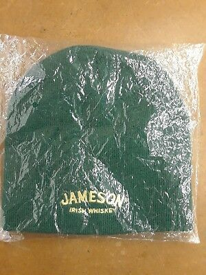New Jameson Irish Whiskey Beanie Cap Headgear - Brand New & never worn