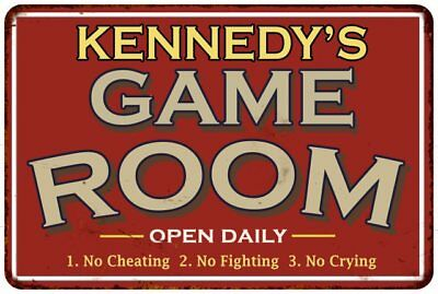 KENNEDY Personalized Street Sign Home Decor Chic Gift 4x18 104180003313