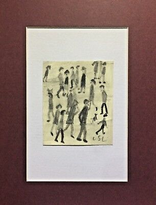 L.S. Lowry - pencil drawing