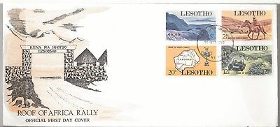 1969 Lesotho Roof Africa Rally Race Issue FDC