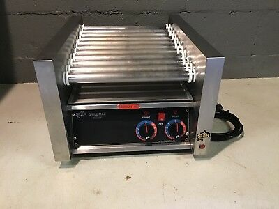 STAR GRILL-MAX MODEL 20 C TABLE TOP HOT DOG ROLLER GRILL Commercial Grade