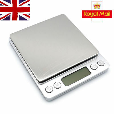 0.1G-500 Grams Electronic Pocket Mini Digital Gold Jewellery Weighing Scales UK