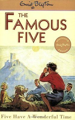 NEW (11)  FIVE HAVE A WONDERFUL TIME ( FAMOUS FIVE book ) Enid Blyton