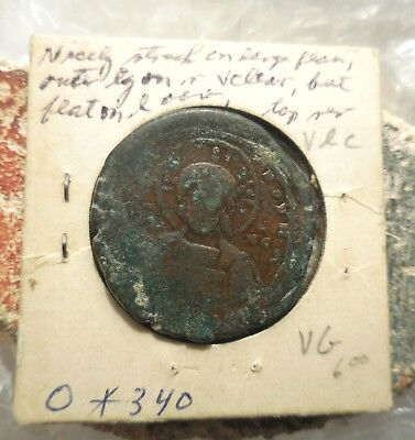 VF! Anonymous Basil II, Constantine VIII! Ex Heritage Auction of Old Estate: