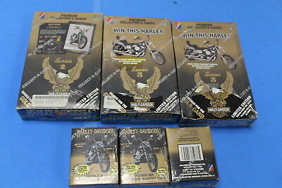 Harley Davidson Premium Collector cards Series 2 and Series 3