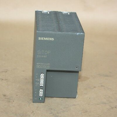 Siemens 6EP1333-2AA00 SITOP Power 5 Power Supply, 120/230VAC, 5A/24VDC PLC