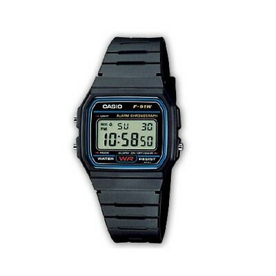 Casio Classic Collection Watch Retro F-91W-1YEF