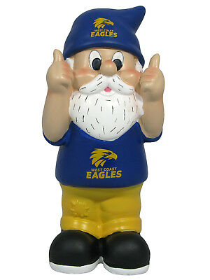 West Coast Eagles AFL Two Thumbs Up Garden Gnome