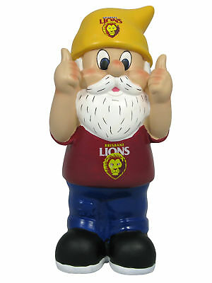 Brisbane Lions AFL Two Thumbs Up Garden Gnome