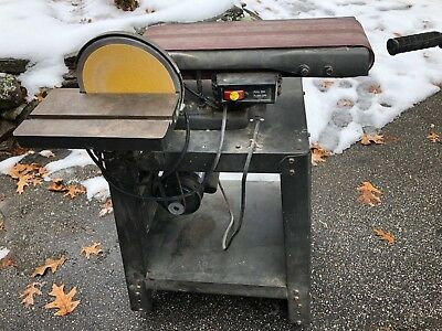 Vintage Sears Craftsman Crown 113-22521 belt & disk sander combo