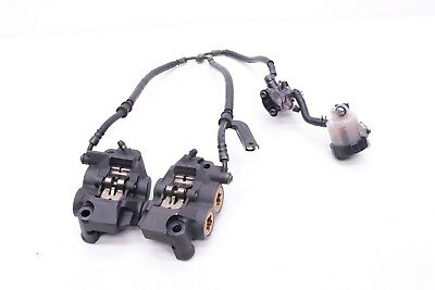 2006 06-09 Yamaha Yzfr6 600 R6 Front Brake Calipers Master Lines Complete Y50