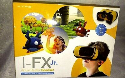 NEW Hype I-FX Jr. Virtual Reality Headset - Works with Any Smartphone