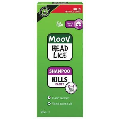 New Ego MOOV Head Lice Shampoo 500mL