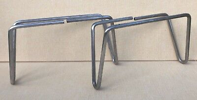 RARE Pair of Hairpin Legs For George Nelson Herman Miller Thin Edge Furniture