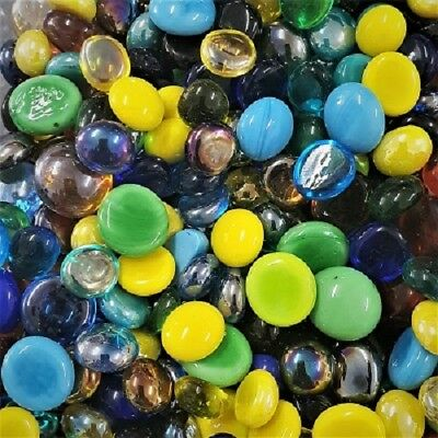 Mosaic Glass Droplets 100 grams - Rainbow