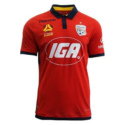 Adelaide United 2017/18 Official Home Jersey