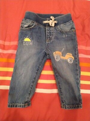 Baby GAP Boys My First Easy Slim Jeans Size 6-12M