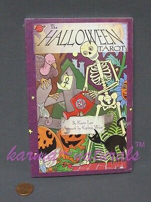 HALLOWEEN Tarot Book - Works with Card Deck - by Lee & West - NEW