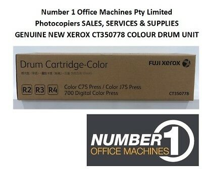 NEW & Original Genuine Fuji Xerox CT350778 Colour Drum Unit 700 Digital Press