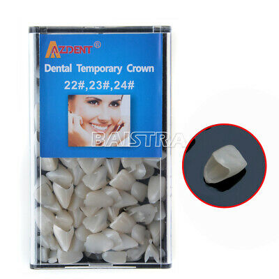 Dental Temporary Crown 22# 23# 24# Anterior Teeth Tooth Covering usps AZDENT