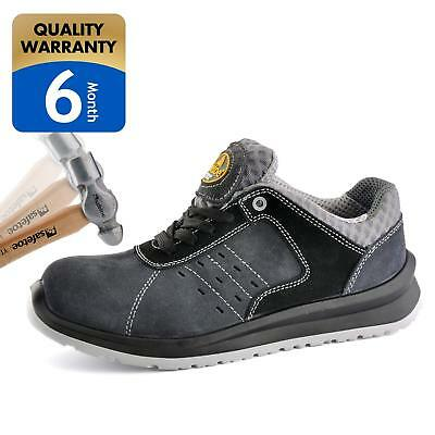 SAFETOE Men's Work Safety Shoes,Lightweight Sport Industrial and Construction