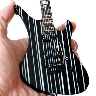 Miniature Guitar Avenged Sevenfold Synyster Gates Black 7