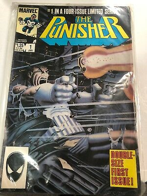 Punisher Marvel Comic Book Limited Series #1 Mike Zeck Cover & Art