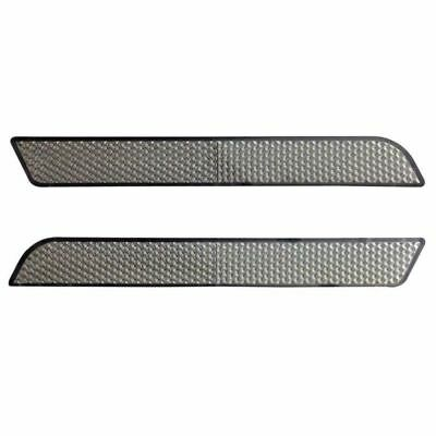 Smoke Reflectors Saddle Bag Latch Covers For Harley Electra Street Glide Touring