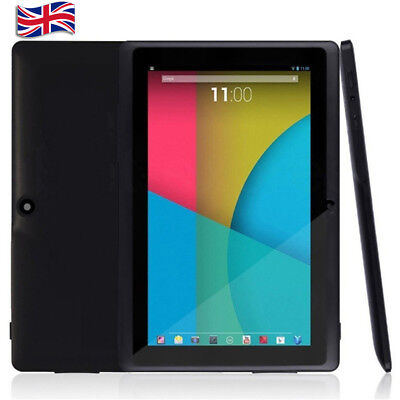"UK 7"" Tablet PC 4G+512M Android 4.4.2 Quad-Core Dual Phone Card Port&Camera Wifi"