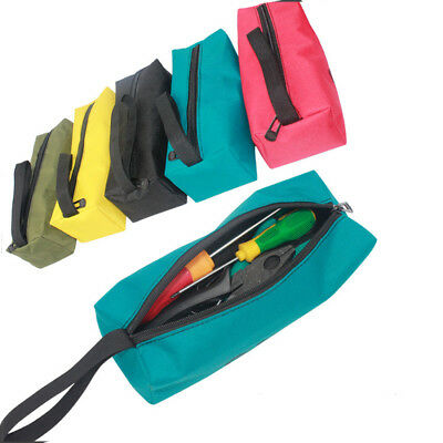 Zipper Hand Tool Bag Pouch Organize Storage Small Parts For Plumber Electrician