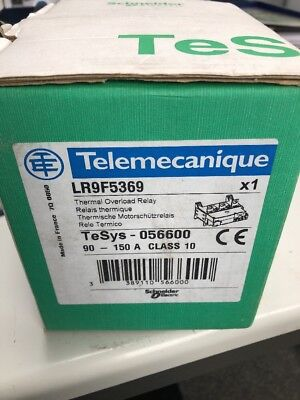 1PCS Schneider Thermal Overload Relay LR9F5369 90-150A
