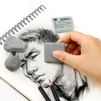 1pc Soft Rubber Eraser Wipe highlight Kneaded Art  Sketch Painting Design