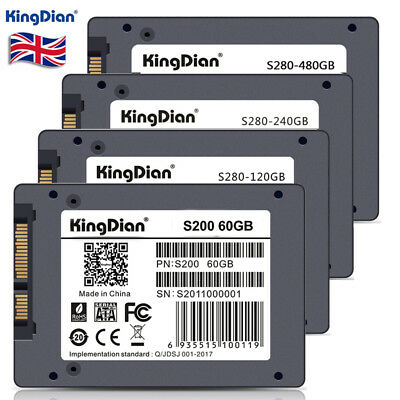 "2.5"" 480GB High Speed SSD SATA III Internal Solid State Drive for Laptop PC - UK"