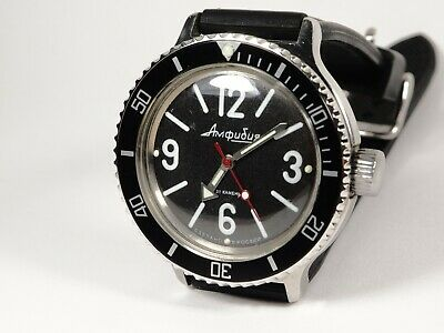 New Custom Steel Bezel for Vostok Amphibian Komandirskie Watch w Insert and Wire