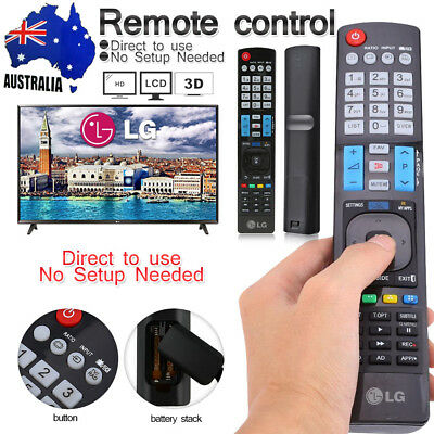 LG Universal Remote Control AKB73615362 For All LG Smart 3D LED LCD HDTV TV APPS