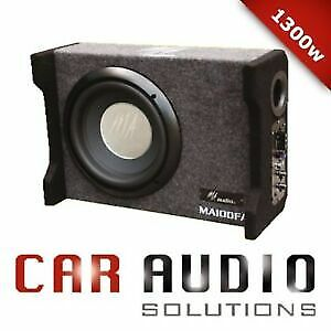 """10""""inch powered ported enclosures subwoofer box 1300w design to Play in Any car."""