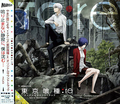 DHL) Tokyo Ghoul:re Original Soundtrack 2 CD Anime Music | TV Animation Song OST