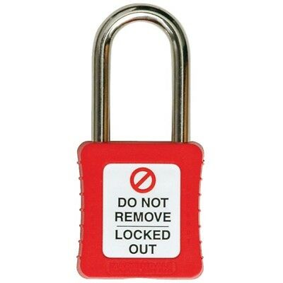 Martindale PAD10R Padlock Red