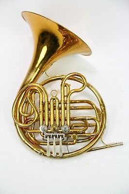 French Double Horn King Model 1159/ Fully checked and serviced