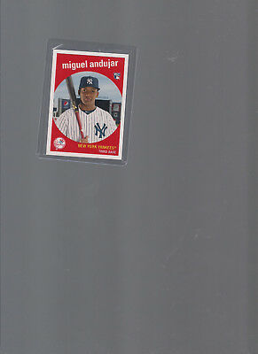 """2018 Topps Now Miguel Andujar """"TBT"""" Rookie Card #161, Print Run of 1588"""