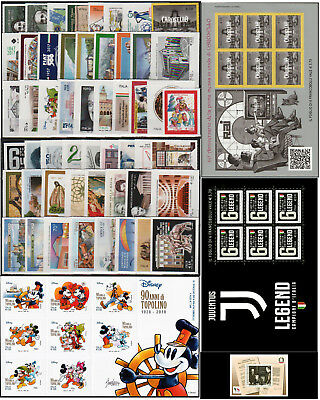 Italia 2017 - Annata Completa Francobolli - Italian Stamps - All Issues 2017
