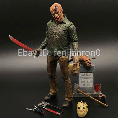 "NECA Friday the 13th Final Chapter Jason 7"" Ultimate Action Figure Part 4 NIB 09"