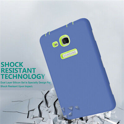 Kids Hard Rubber Case Cover For Samsung Galaxy Tab A6 7.0 2016 SM-T280 SM-T285