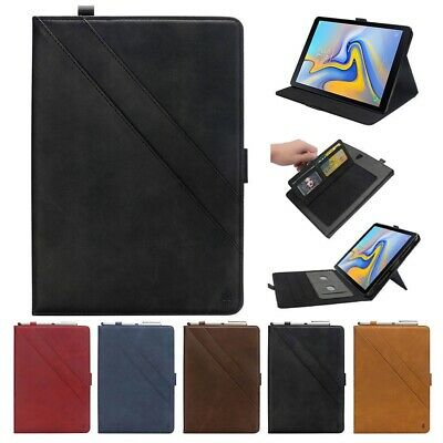 Folio Wallet Leather Stand Smart Case Cover For Samsung Galaxy Tab A 10.5'' T590