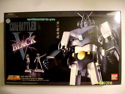 BANDAI Soul of Chogokin COMBATTLER V BLACK GX-03 B Figure Shogun Warriors NIB