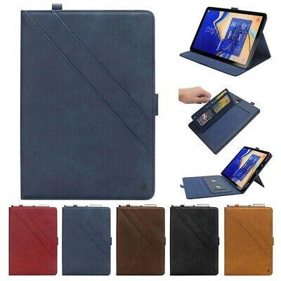 Folio Wallet Leather Stand Magnetic Flip Case Cover For Samsung Galaxy Tab S3 S4