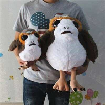 Star Wars The Last Jedi Porg Birds Deformed Soft Plush Toy Stuffed Doll Kids T