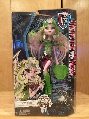 MONSTER HIGH BRAND-BOO STUDENTS BATSY CLARO Doll mattel new in box