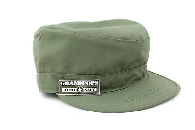 Od Green Patrol Cap With Map Pocket Made In Usa