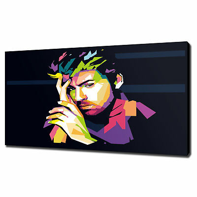 George Michael Pop Art Canvas Print Picture Wall Art Variety Of Sizes Free P&P
